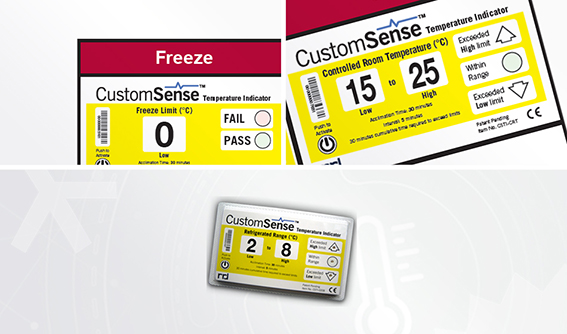 Indicateur de T° électronique CustomSense™