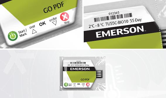 Enregistreur de T° GO PDF Medical & Industrie