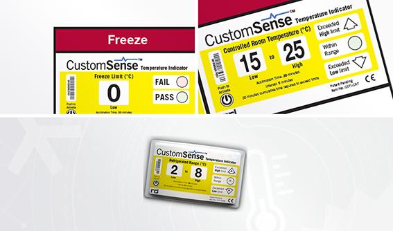 Indicateur de T° électronique CustomSense™